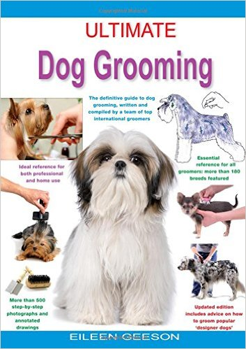 ultimate dog grooming book cover