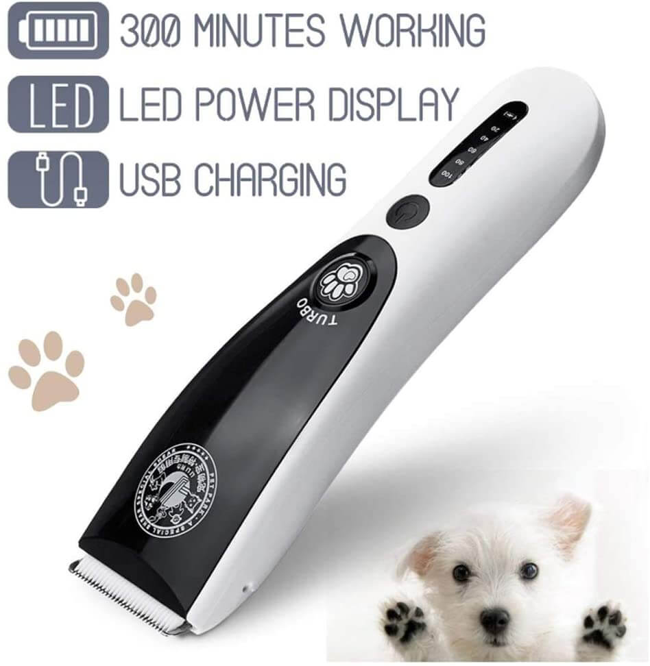 ​Anera Low Noise, Cordless ​Dog Clippers